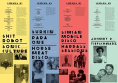 All sizes | Flyer LUXFrágil Jan 2011 | Flickr - Photo Sharing! #brand #flyer #alva #typography