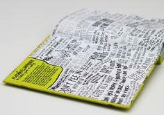 Flatmate's Handbook #hardcover #pages #flatting #design #flatmates #book #cover #illustration #end #inside #lime #green