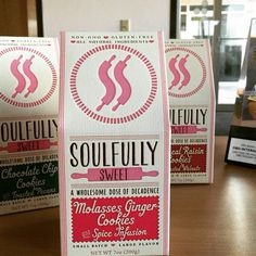 package design for Soulfully Sweet