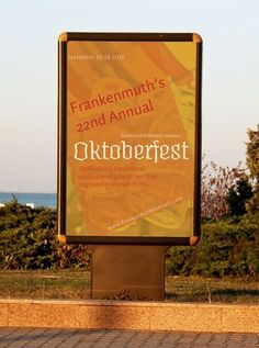 Frankenmuth Oktoberfest Event Program - Design Portfolio #event #frankenmuth #program #poster