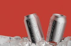 COLORLESS on the Behance Network #coke #colorless #aluminum #branding #design #friendly #eco #can #green