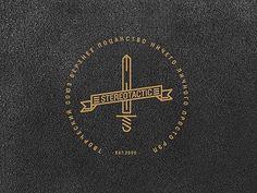 Dribbble - St logo by MRfrukta #line #vector #2012 #sword #type #work