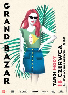 Grand Bazar poster set 2016 on Behance