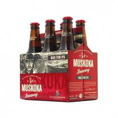 Muskoka Brewery | Lovely Package #beer #design #rethink