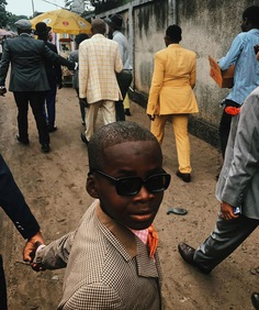 "Clo on Instagram: ""Sapeurs, Congo 🍊 shot by @robbiel1 July 2018 💙"""