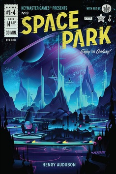 Space Park Board Game on Behance