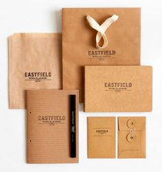 Eastfield Identity - Design Work Life - Cataloging Inspiration Daily #corporate #brand #identity #branding