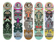 Skateboarding by Anthony Yankovic III at Coroflot.com #skateboard #yankovic