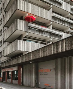 Brutalist Architecture Photography by Gregor Zoyzoyla