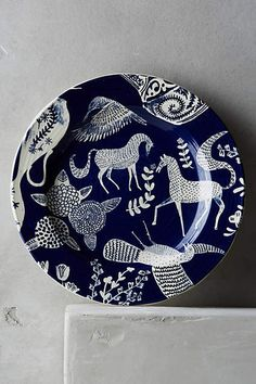 Saga Side Plate, Anthropologie