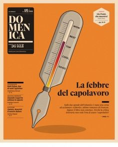 Domenica Cool? Wow! - Coverjunkie.com #cover #print #domenica #magazine