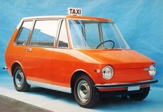 Zoom #italian #taxi #orange #car