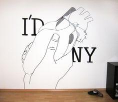 I'd ... New York | Flickr - Photo Sharing! #york #illustration #tape #new