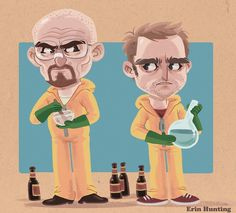 Breaking_bad_ #cartoon #illustration #breaking #bad