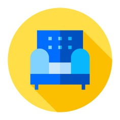 See more icon inspiration related to sofa, livingroom, furniture and household, siting, couch, comfortable, armchair and furniture on Flaticon.