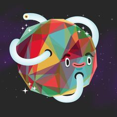 Suero studio #illustration #character #planet