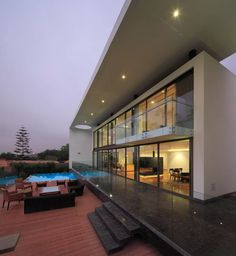 Modern City Escape: Imposing House on the Hill in Lima #architecture #modern