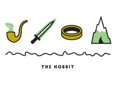 Dribbble - The Hobbit by Kyle Tezak