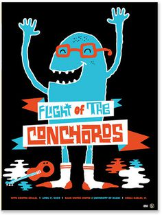 Flight of the Concords #flight #of #the #concords #poster #music
