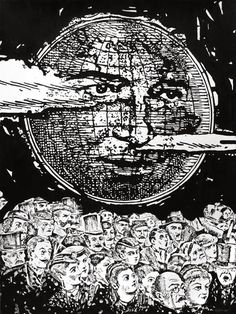 The Happening, by Dan Bina #ink #ny #bina #surrealism #drawing #dan #art #paper #brooklyn
