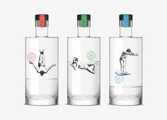 Gin Rawal on Packaging of the World - Creative Package Design Gallery #packaging #gin #rawal