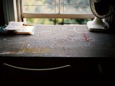 tumblr_kx8pk9Rbii1qau50i.jpg 500×375 pixels #desk