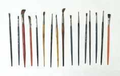 Black*Eiffel: Collection a Day #paint #brushes