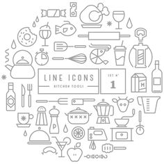 Line Icons | GRAVUAL | Grafisch bureau | Grafische vormgeving | Antwerpen #icon #line