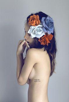 flores en mi cabeza
