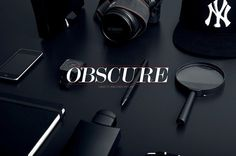 OBSCURE #type #objects #photography #dark