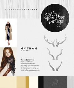 I Love Your Vintage - Tofslie Inc. | The Creative Studio of Edwin Tofslie - Creative Direction, Art Direction, Ideas, Design, Interactive, W