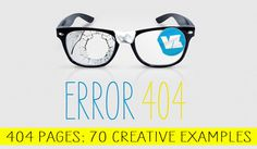 404 Pages: 70 Creative Examples #web #404