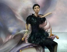 The Vibrant High Fashion Photography of Nick Knight