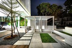 Greja Glass House by Park + Associates - outdoor, architecture, house, dream home, #outdoor furniture