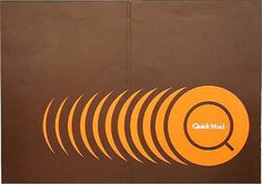 ken garland & associates:graphic design:quick maid #cover #vintage #brochure