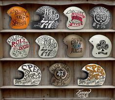 Helmets Private Collection #helmet #design #bmd #illustration #motorcycle