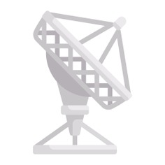 See more icon inspiration related to radio antenna, satellite dish, wireless connectivity, parabolic, communications, signal and technology on Flaticon.