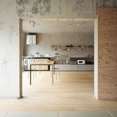Dezeen » Blog Archive » Setagaya Flat by Naruse Inokuma Architects #domestic #env
