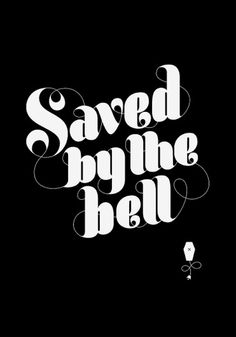 Saranna Drury - Saved by the Bell #white #black #and #type #typography