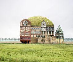 Surreal Homes by Matthias Jung | iGNANT.de #surreal #building #house