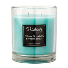 2-Wick Jar Gooseberry & Peach Scented Candle