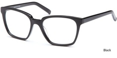 Black Capri Eyeglasses CAPRI ART 414