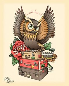 Rik Lee #tattoo #lee #owl #rik