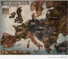 9GAG - Steampunk Europe #1914