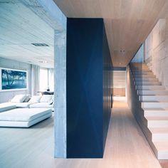 The Minimalist Villa in Ljubljana_5 #minimalistic