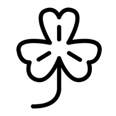 See more icon inspiration related to clover, ireland, leaf, shamrock, Irish, plant, garden, cultures, botanical, good luck and nature on Flaticon.