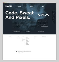 Grafik #website #layout #design #web