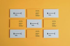 Good design makes me happy: Project Love: Branch Creative #business #branding #card #print #design #yellow