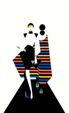 SHOP Hamburg malikafavre #fashion #illustration