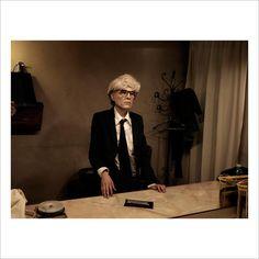 Raffaello Sanzio wears an Andy Warhol mask. Italy